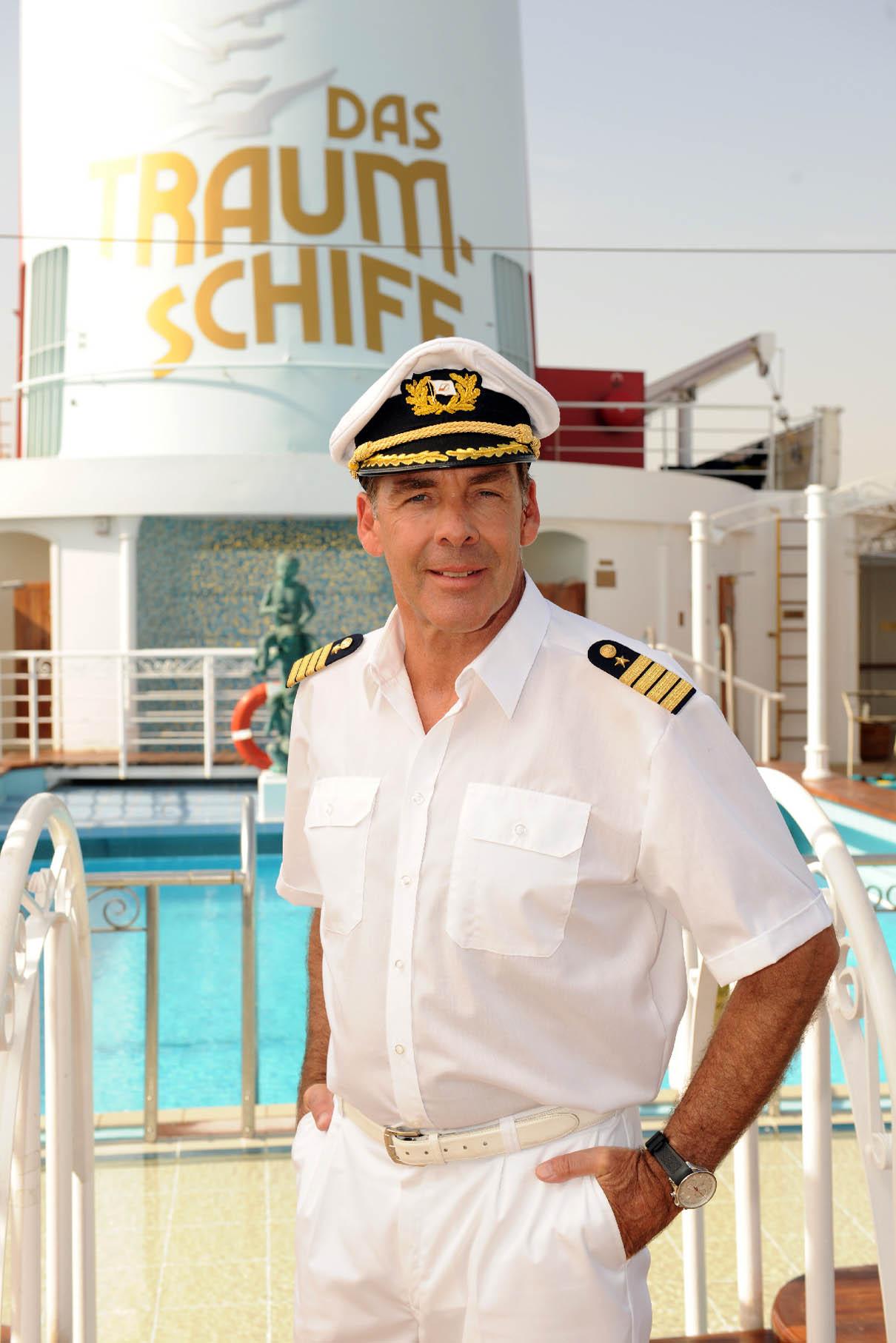 Sascha Hehn - wieder an Bord