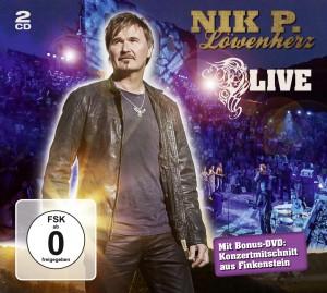 "Nik P. ""Löwenherz Live"" - Cover"