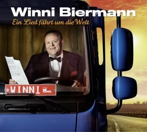 """Winnie Biermann - """"Ein Lied fährt um die Welt"""" - Albumcover"""