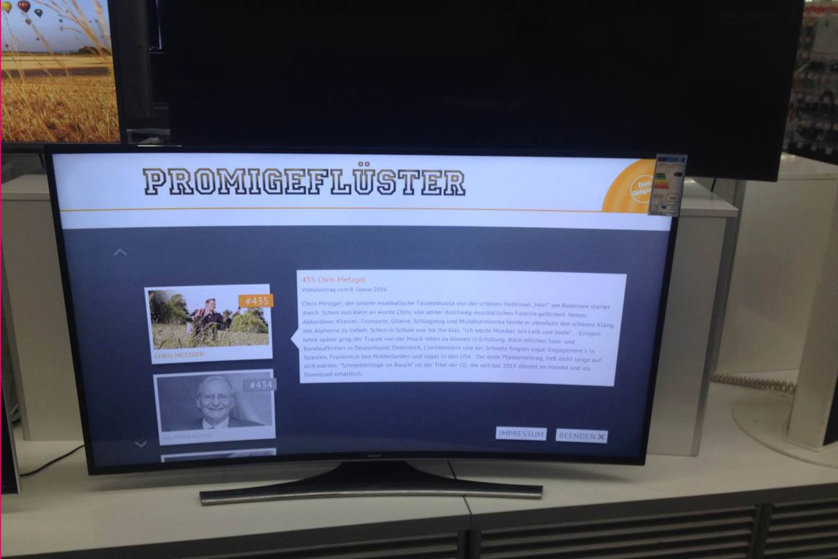 SmartTV - Samsung