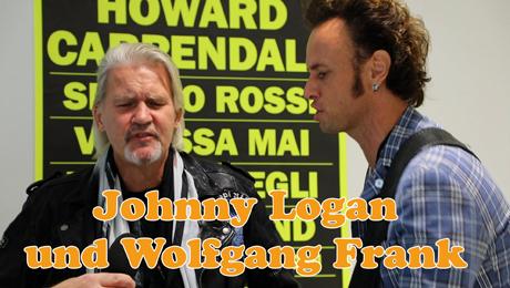 Johnny Logan und Wolfgang Frank singen Rod Stewart