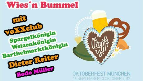 Oktoberfest 2017 - Wieseneröffnung - voXXclub