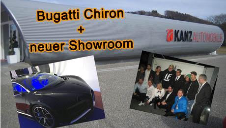 Bugatti Chiron - Kanz - eXtra