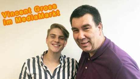 Vincent Gross - im Media Markt Reutlingen