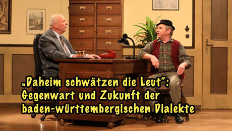 Hannes und der Bürgermeister zum Thema Dialekt