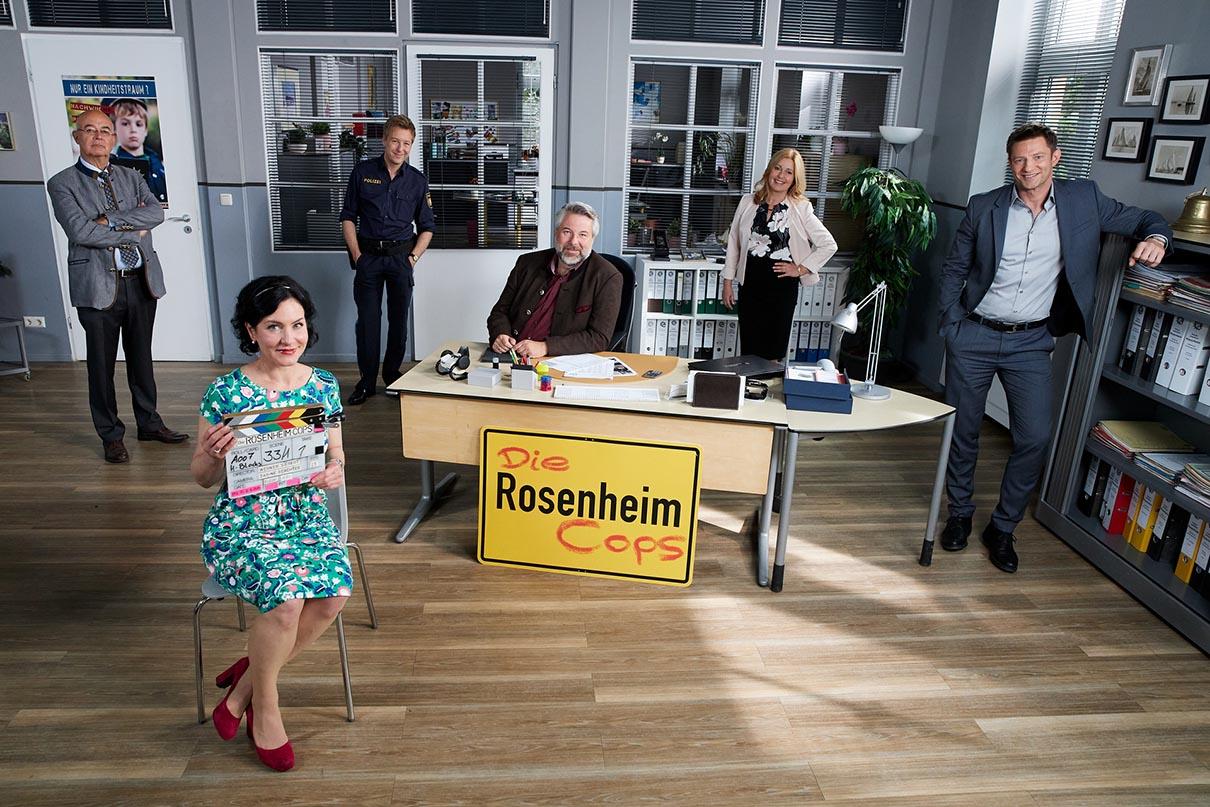 Die Rosenheim-Cops drehen wieder